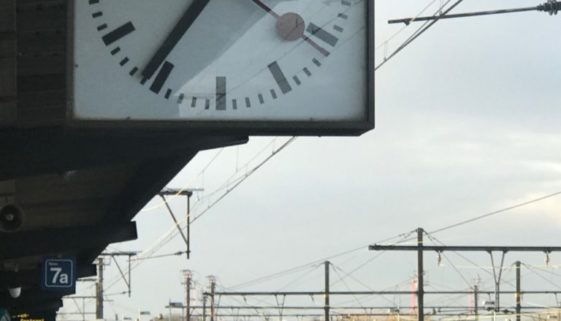Clock NMBS