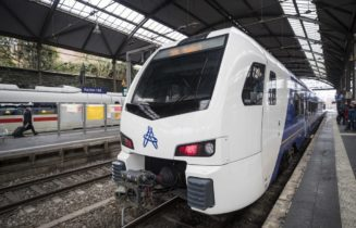 ARRIVA Heerlen Aken 27 januari 2019  ARRIVA trein traject Heerl