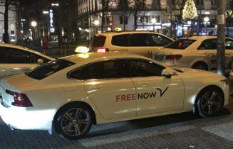 FreeNow Taxi
