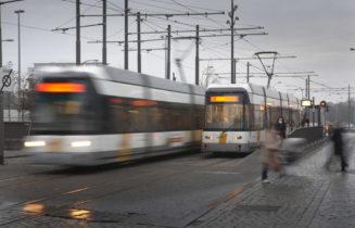 Lijn trams