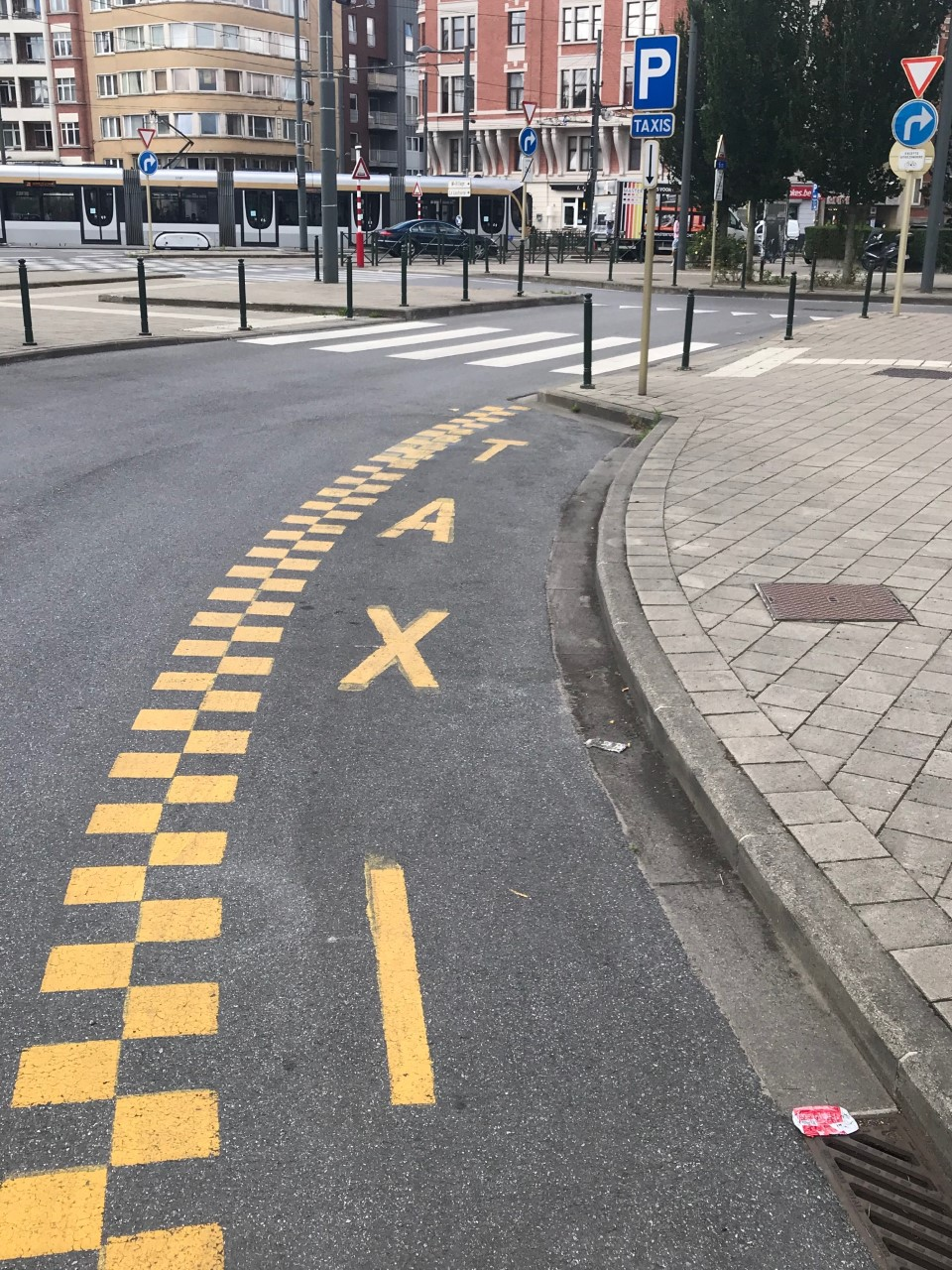 Brussels taxistand