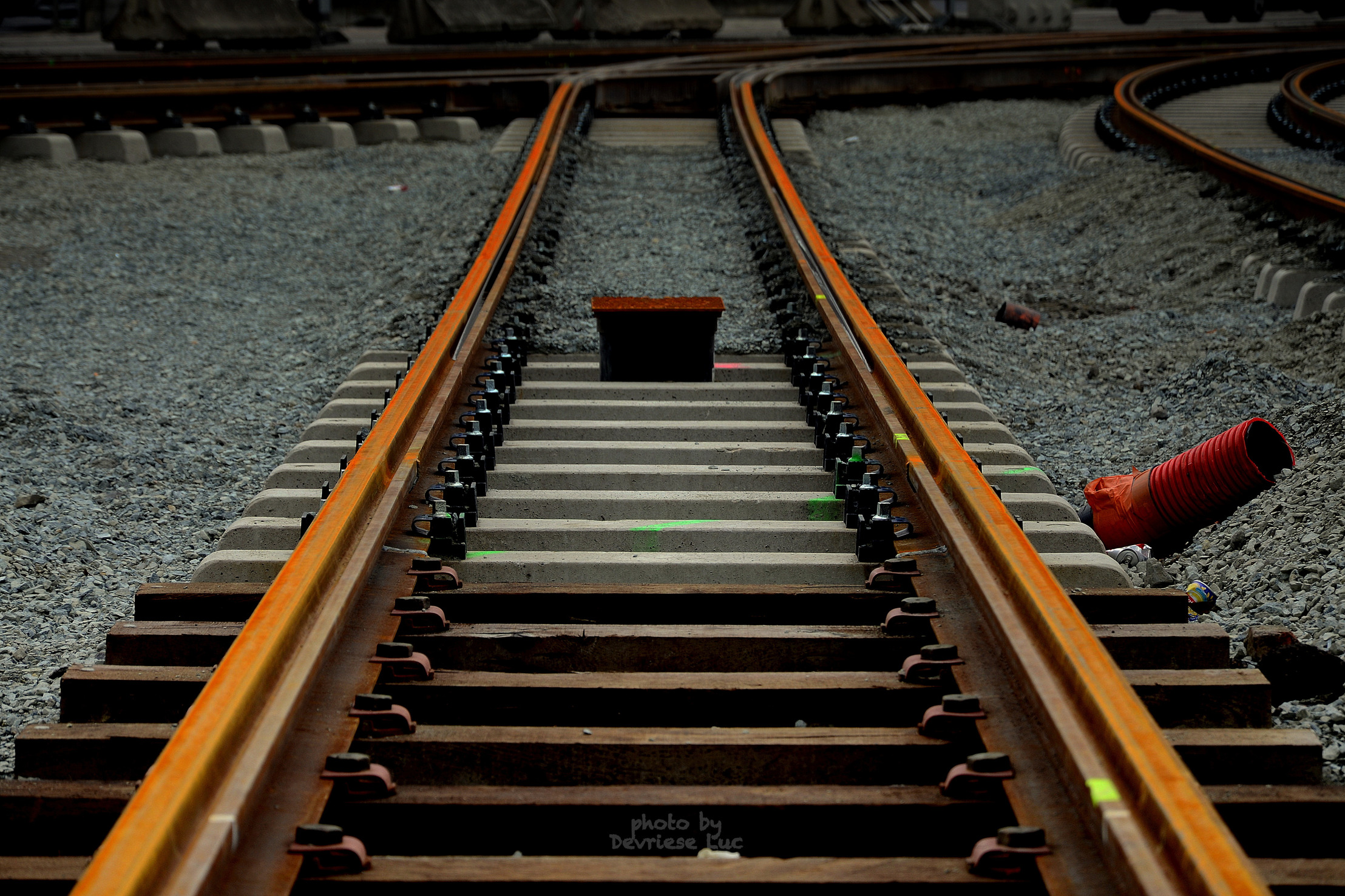 De Lijn rails