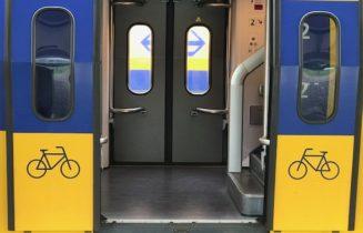 NS trein instap fiets